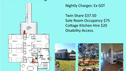 Barwick's Cottage floor plan