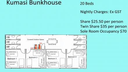 Kumasi dormitory floor plan