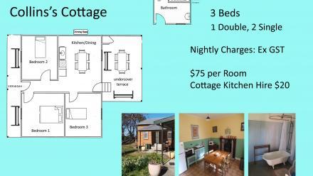 Collin's Cottage floor plan