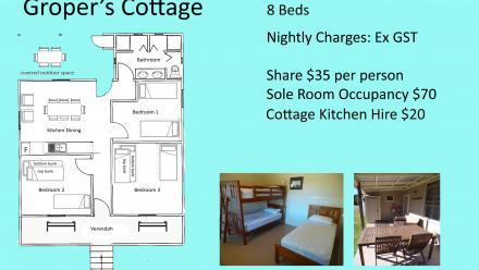 Groper's Cottage floor plan