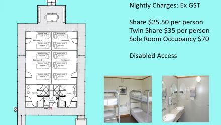 Packard's dormitory floor plan