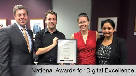 National Archives Award For Digital Excellence