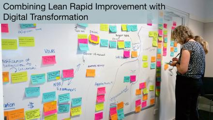 Combining Lean Rapid Improvement with Digital Transformation
