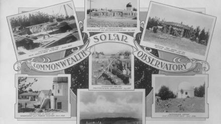 Commonwealth Solar Observatory postcard, 1920s (Mt Stromlo Archives)