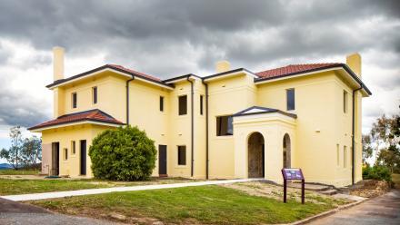 Restored Director's Residence, 2015. (Stuart Hay)