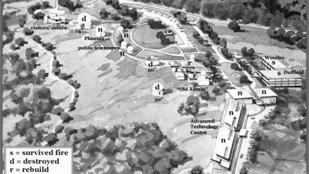 2003 Plan for revitalisation of Mt Stromlo Observatory (Mt Stromlo Archives)