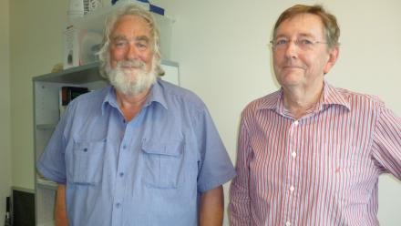 Gabe Bloxham and John Hart