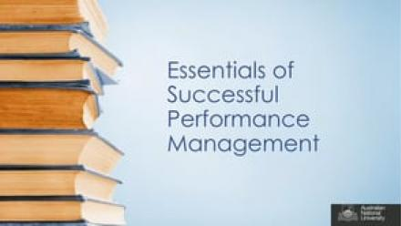 Essentials of Successful Performance Management