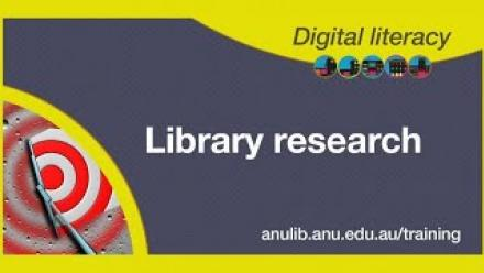 Library Research 2020