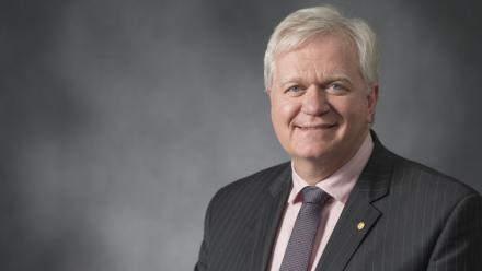 Professor Schmidt will begin his second term as ANU Vice-Chancellor on 1 January, 2021. Photo by Lannon Harley, ANU.