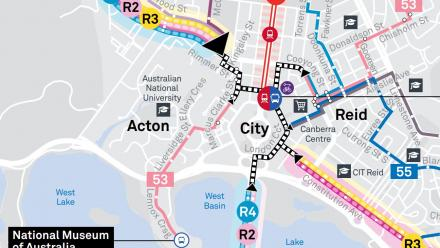 New bus network