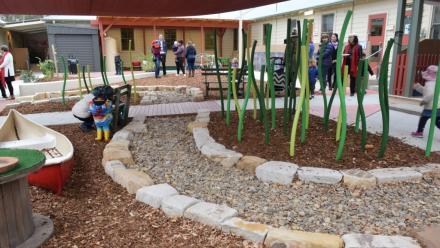 New nursery/toddler playground at UPCCC; photo Tongbo Sun