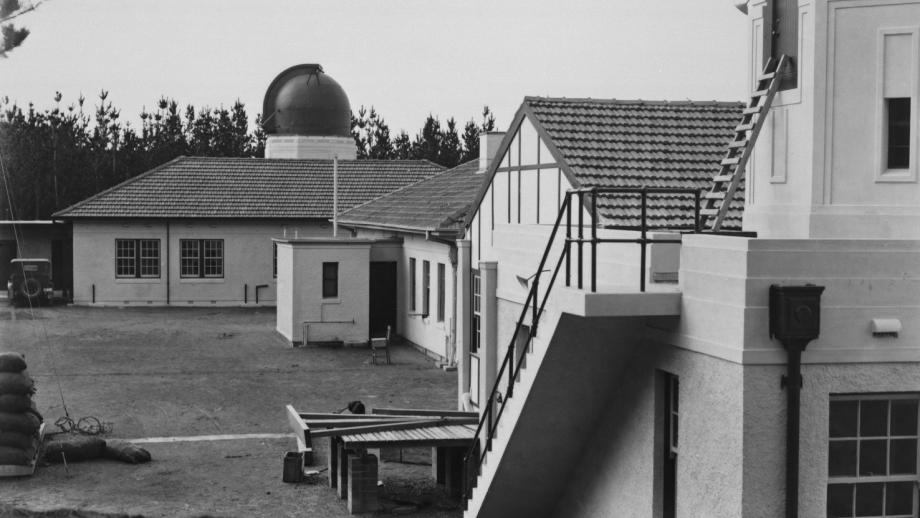 Rear of CSO Building, 1920s (Mt Stromlo Archives)