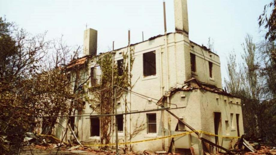 Director's Residence, 2003 (Mt Stromlo Archives)