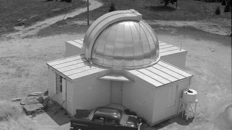 Oddie Dome, 1960s (Mt Stromlo Archives)