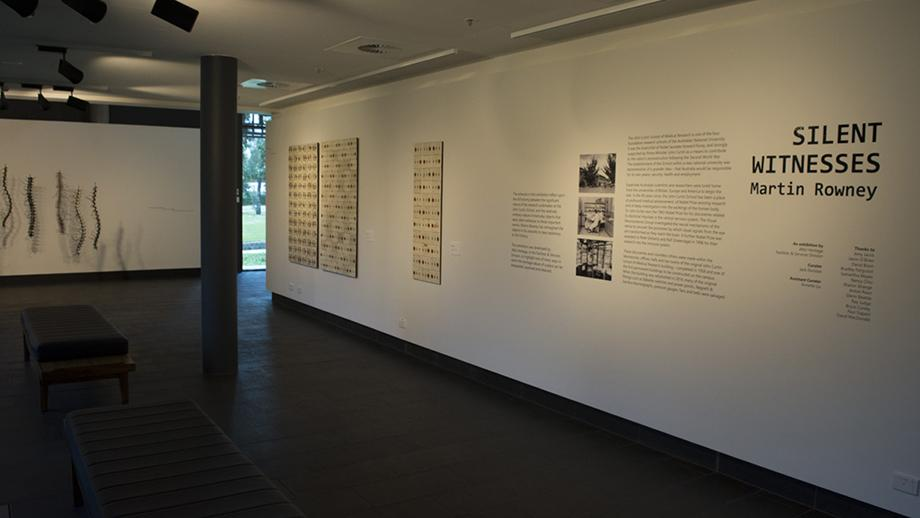 Silent Witnesses exhibition in the China in the World gallery