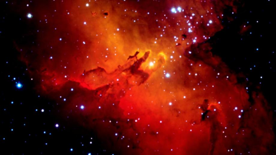 Eagle Nebula (Mt Stromlo Archives)