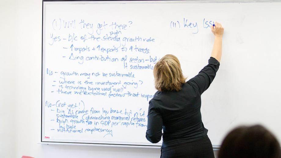 Teaching at ANU