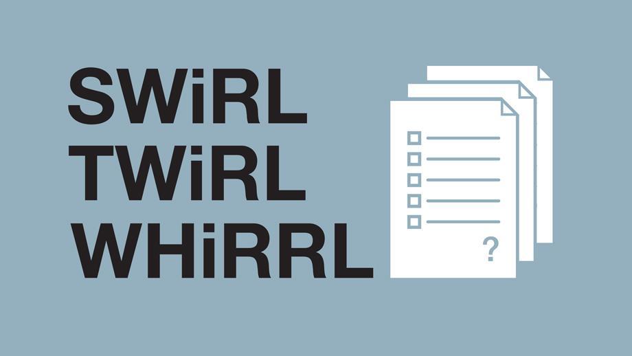 SWiRL, TWiRL and WHiRRL survey icon