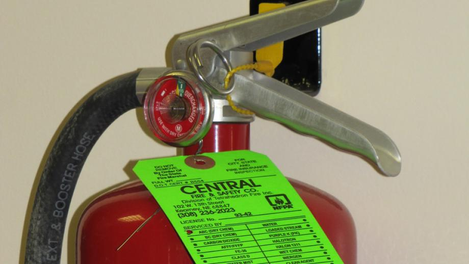 Fire extinguisher by John Lillis on flickr