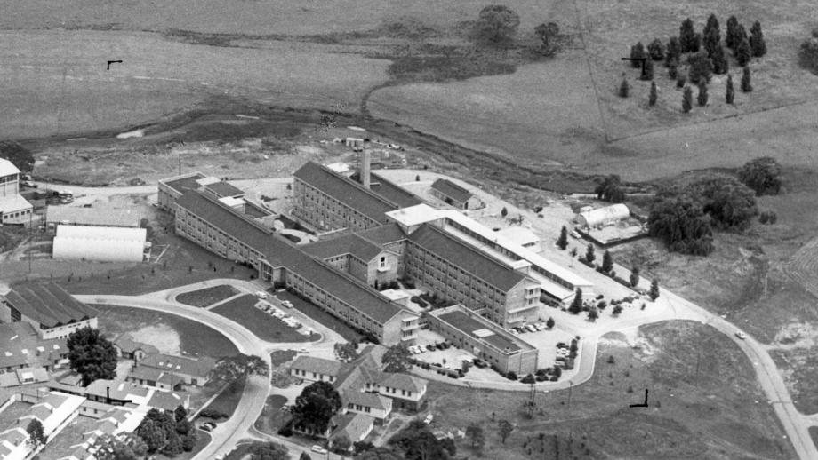 John Curtin School of Medical Research, 1959 (Source: ANU Archives)