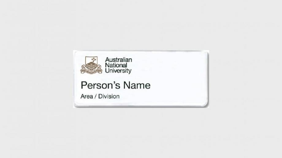 Option 2: name, and area or division