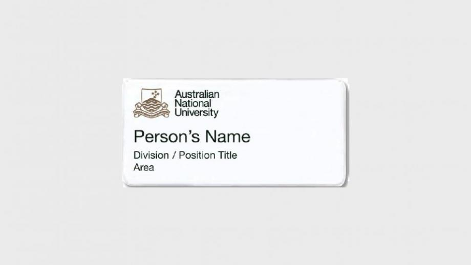 Option 3: name, division or position title, and area