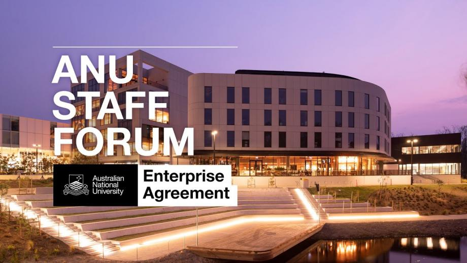 Enterprise Agreement Information session and Q&A (15 June 2020)