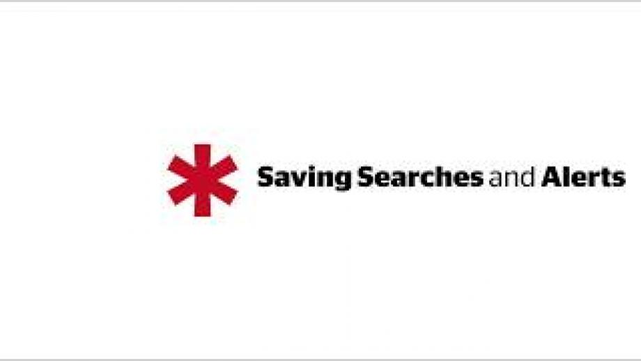*Research Professional: Saving Searches and Creating Email Alerts
