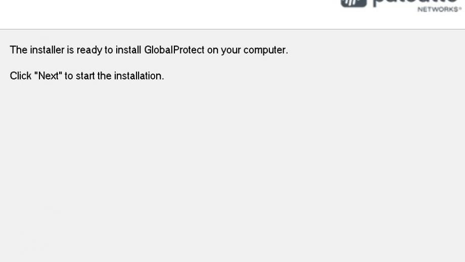Confirm installation
