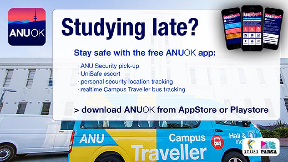 Download the ANUOK app to get home safe!