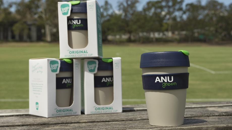 Get in quick and get your ANUgreen KeepCup!