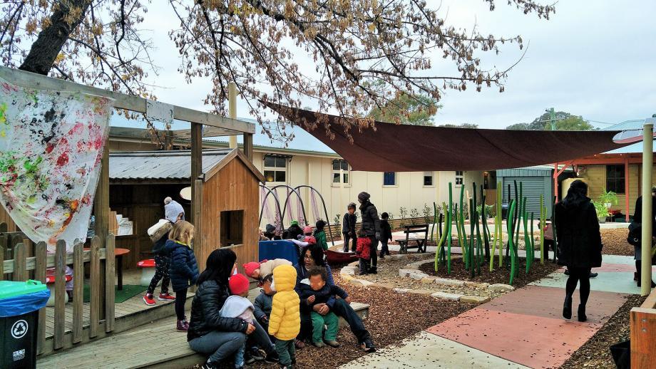New nursery/toddler playground at UPCCC