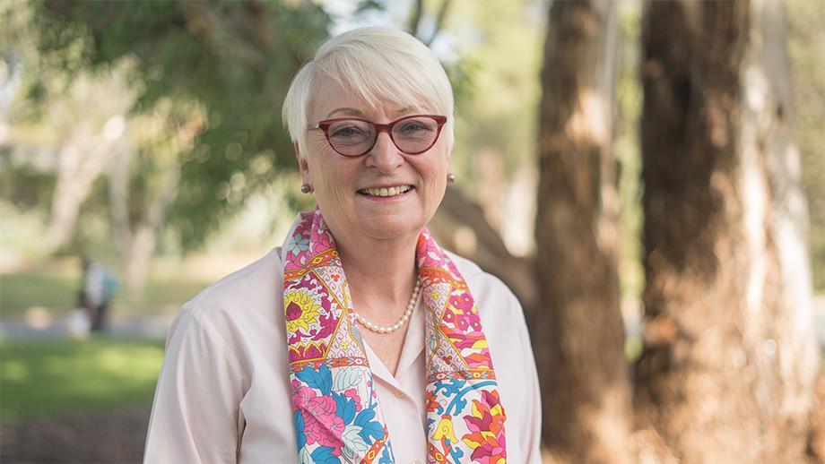 Vice-President (Advancement), Barbara Miles.