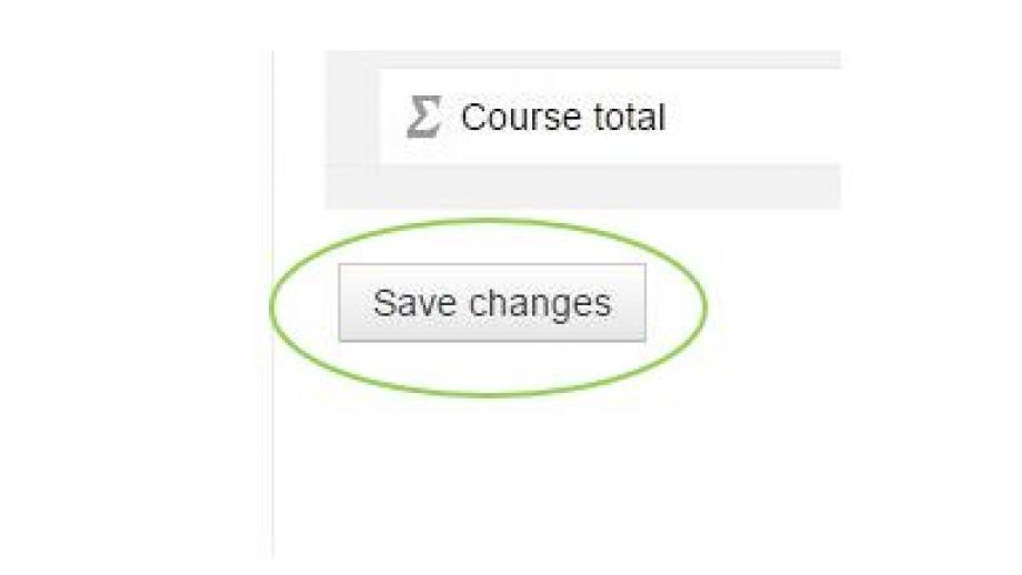 Grader Report Save Changes. ANU Wattle