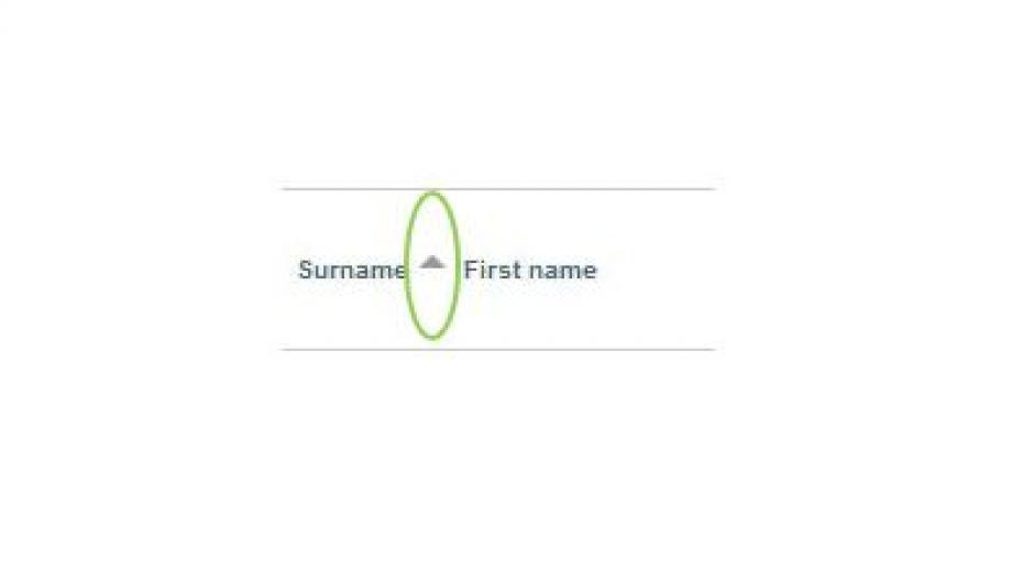 Surname Ascending. ANU Wattle