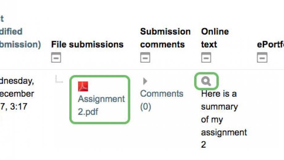 Download submission