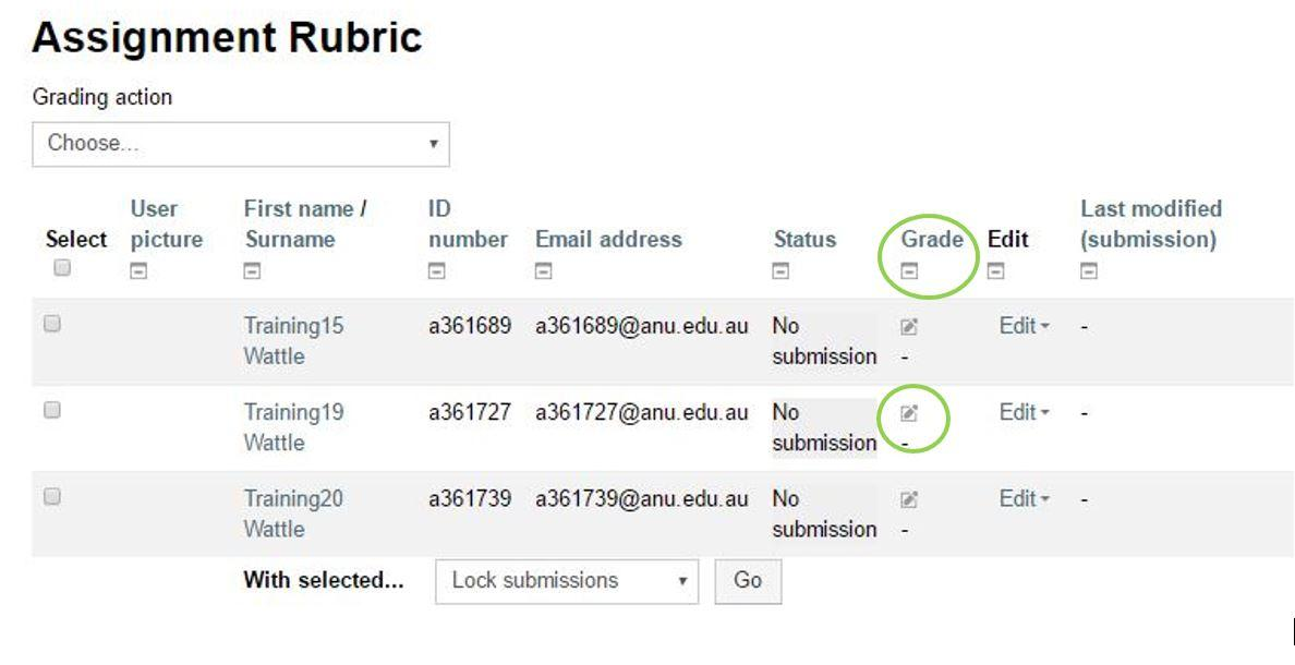 services mark assignment The assignment activity allows the lecturer to communicate assessment tasks, collect work and provide grades and feedback in order to ensure that the assignment is set up correctly, in the format that you wish for it to be marked, please refer to the anu online wattle user guide on 'assignment.