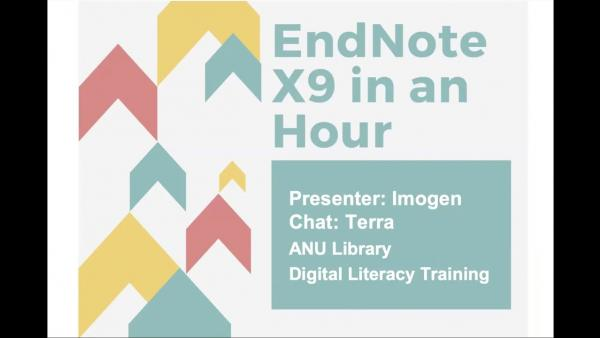 EndNote for Mac in an Hour