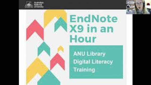 EndNote in an Hour